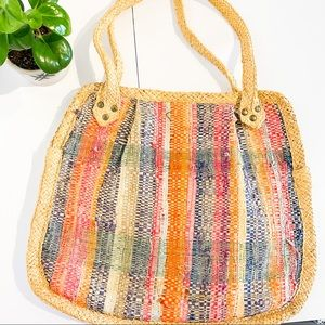 ✨ HOST PICK ✨ VINTAGE Italian Boho Wicker Bag